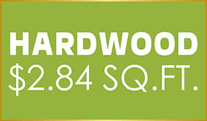 Hardwood flooring on sale just $2.84 sq.ft.