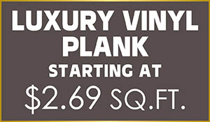 COREtec® luxury vinyl plank starting at $2.69 sq.ft.