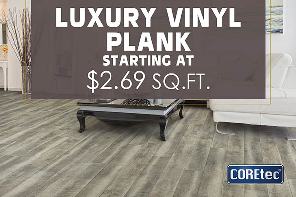Luxury Vinyl Hardwood Carpet