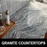 Stunning granite countertops available at Full Circle Flooring in Reno.