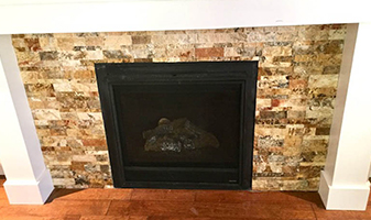 Full Circle Flooring Fireplace Remodel